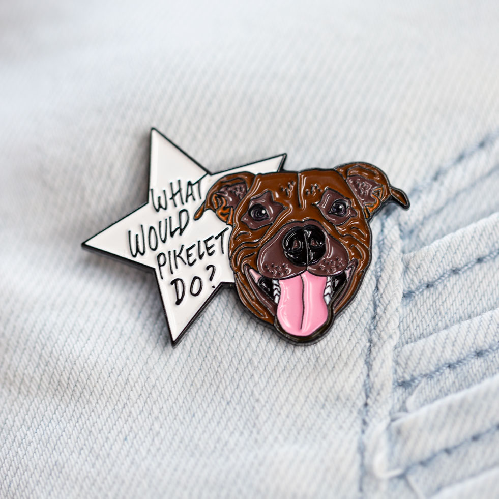What Would Pikelet Do? – Limited Edition Soft Enamel Pin