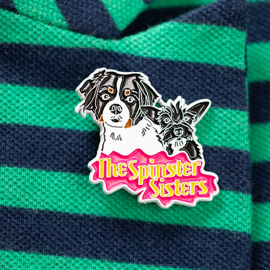 The Spinster Sisters – Limited Edition Soft Enamel Pin