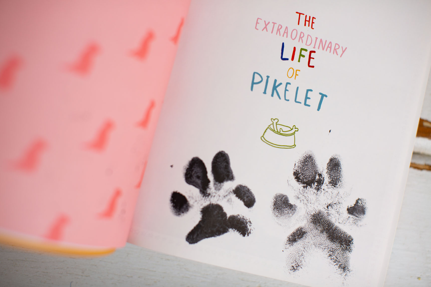 Extraordinary Life Of Pikelet Book, Pawtographed By Pikelet And Patty Cakes