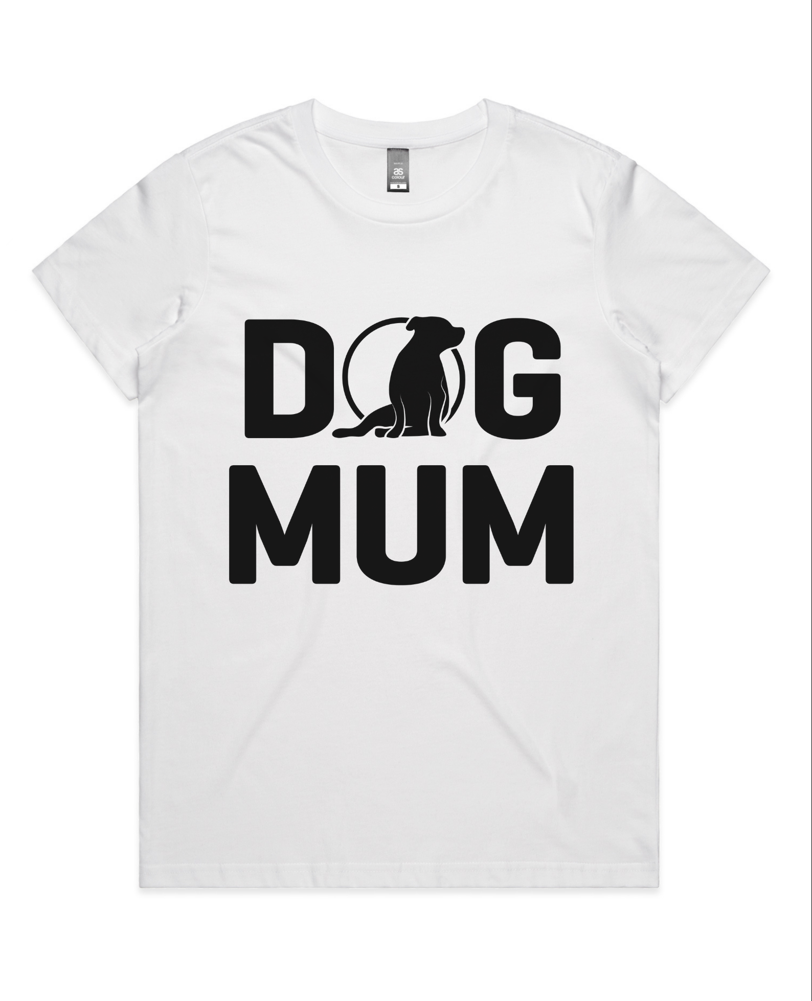 Ladies Dog Mum Tee (AU/UK Spelling)