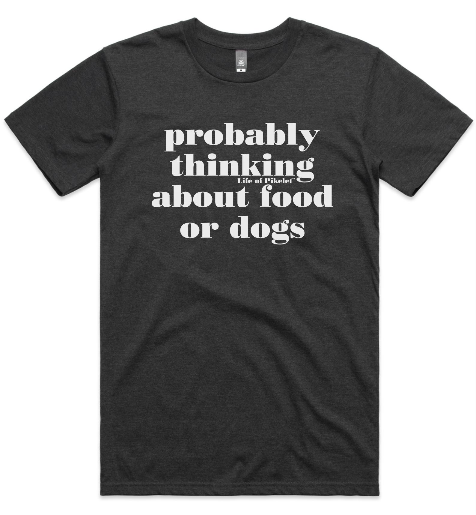 Men's Food & Dogs Tee