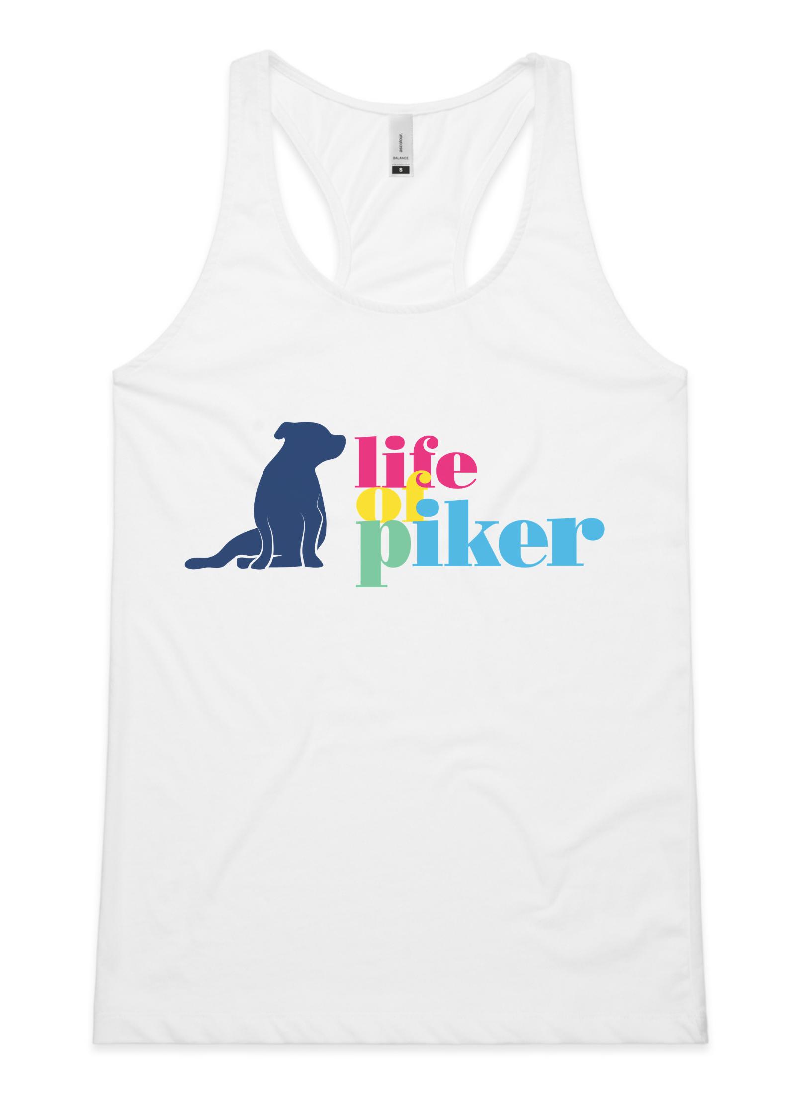 Ladies Life Of Piker Singlet