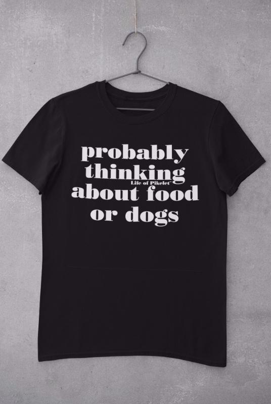 Ladies Food & Dogs Tee