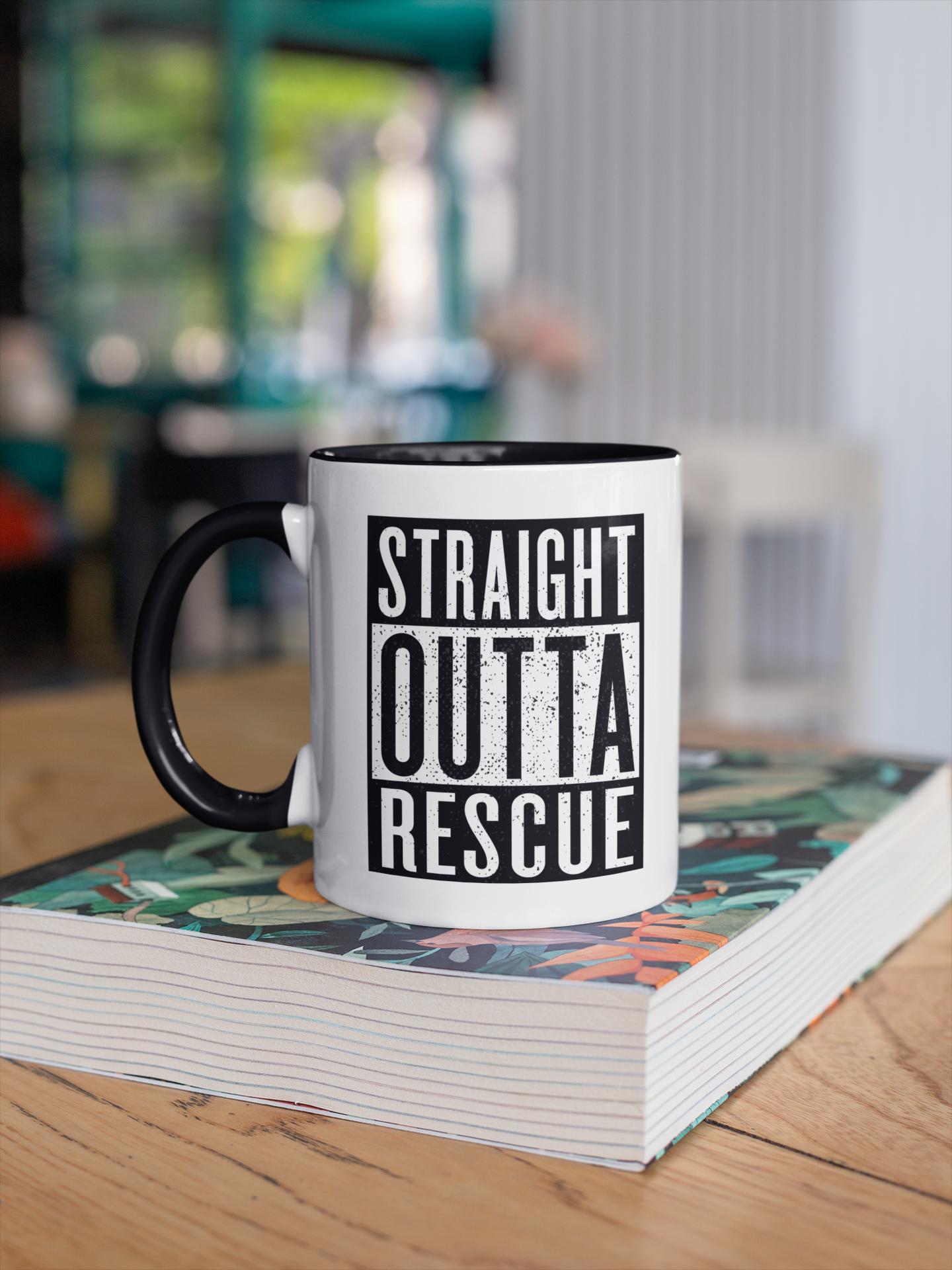 Straight Outta Rescue MUG